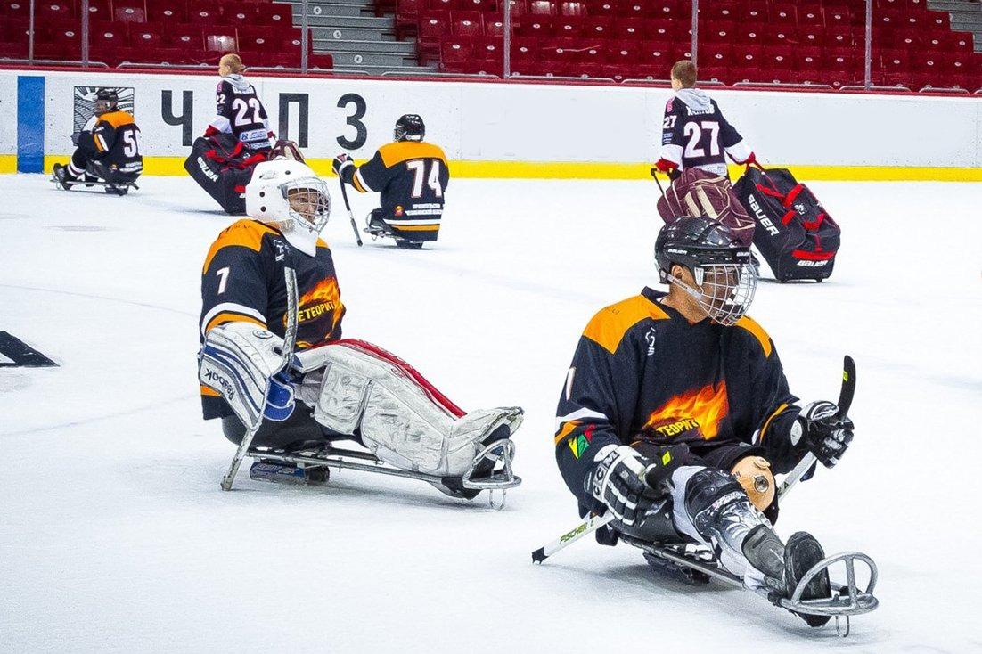 На северо-западе столицы проведут турнир по следж-хоккею