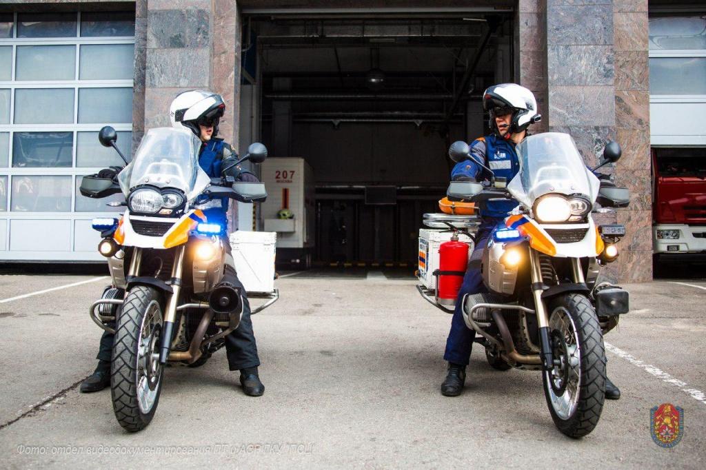 Спасатели Москвы будут нести службу на мотоциклах