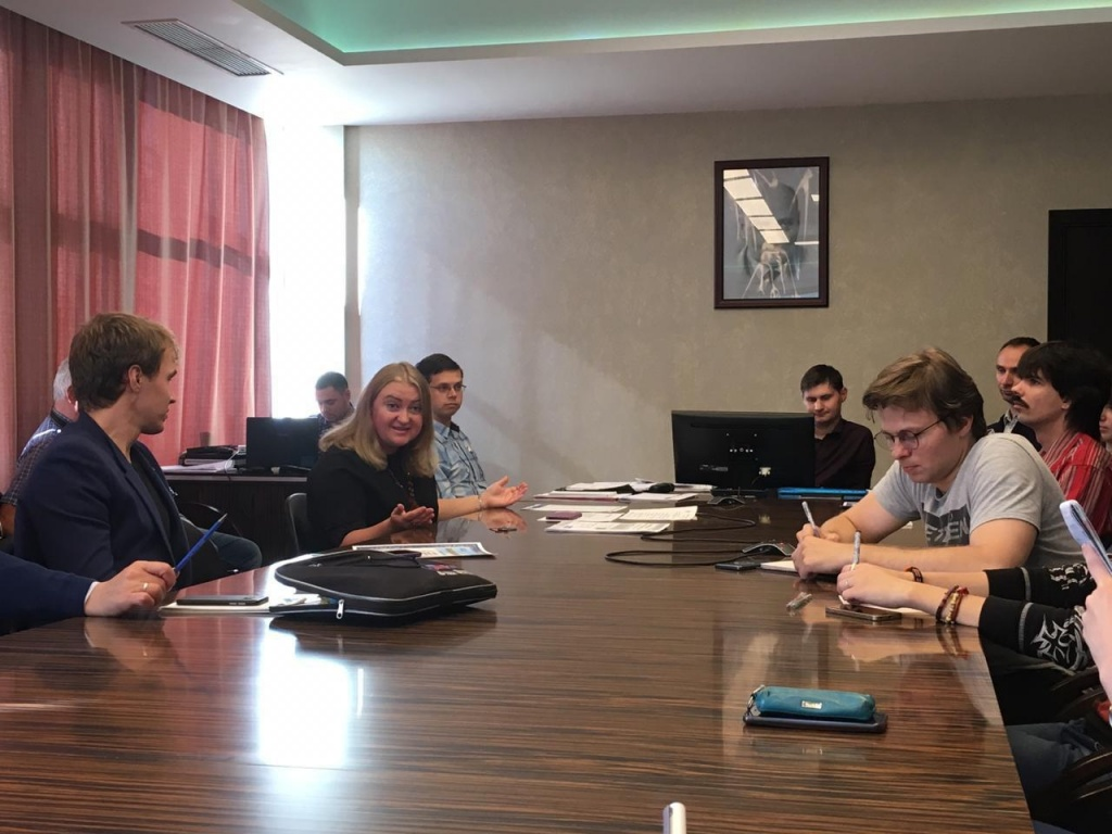 В институте имени академика Бочвара прошло заседание Совета молодежи