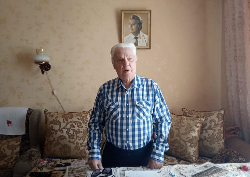 Ветеран из СЗАО рассказал о своей жизни во времена войны