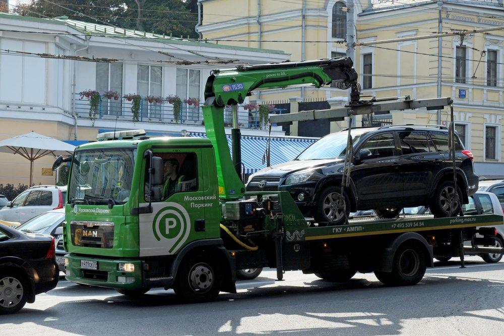 «Автохамов» чаще всего эвакуируют у станций метро «Тушинская» и «Митино» на северо-западе столицы