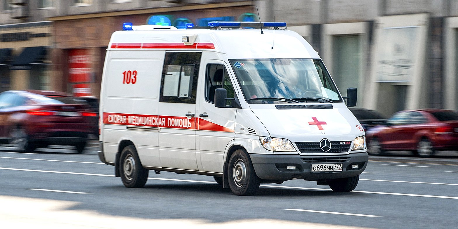 Мотоциклист пострадал в ДТП на Щукинской